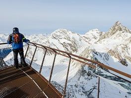 """Vyhlídka """"Top of  Tyrol"""""""