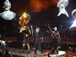 Robbie Williams v londýnské O2 areně