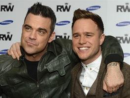 Robbie Williams a Olly Murs oznámili spoelčné turné (26. listopadu 2012).