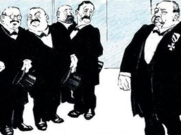 Komiks Josefa Lady (z knihy Nezbedné komiksy)