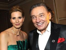 Český slavík 2012 - Karel Gott s manželkou Ivanou