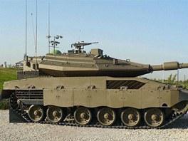 Merkava Mk.4 zatím poslední vývojový stupeň úspěšného tanku.