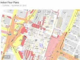 Mapy Googlu nyní nabízejí plány budpv i na běžném počítači.