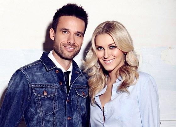 Moderátoři SuperStar - Zorka Kepková a Roman Juraško