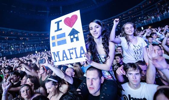 Swedish House Mafia na svém posledním turné v Praze.