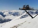 Vyhlídková plošina na Zwölferkopfu (2 596 m)