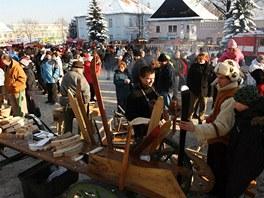 Tradi�n� jarmek ve Vala�sk�ch Klobouk�ch. (4. prosince 2010)