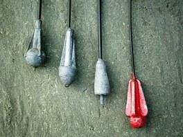 Různý typy klasické zátěže s trubičkou