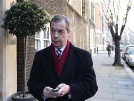 Šéf Strany nezávislosti Velké Británie (UKIP) Nigel Farage