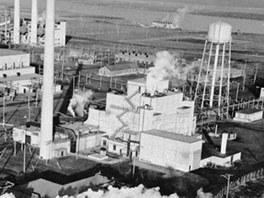 Nukleární provoz na Hanford Site vestátu Washington, kde byly do konce 2.