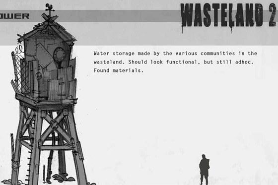 Koncept modelu pro titul Wasteland 2