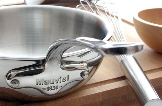 Sofistikované nerez nádobí francouzské značky Mauviel