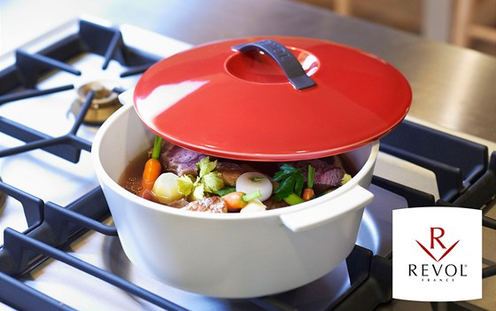 Řada ultramoderního porcelánového nádobí REVOLUTION