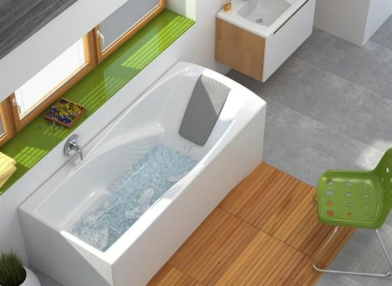 Vana You má ergonomický tvar, který napomáhá relaxaci.