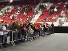 KV Arena před koncertem Seala (30. listopadu 2012)