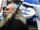 Návštěva izraelského premiéra zmobilizovala stoupence i odpůrce židovského
