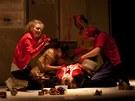 Z inscenace Psota (Divadlo Pôtoň)