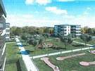 Nová Hůrka - mezi domy architekti mysleli i na minigolf nebo prolézačky a