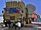 Při tragické nehodě na okraji Týnečka u Olomouce přejel řidič škodovky do