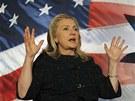 Šéfka americké diplomacie Hillary Clintonová v  Sabanově institutu ve