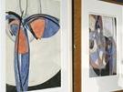 Z výstavy František Kupka - Cesta k Amorfě