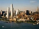 Projekt Hudson Yards vyroste na desetihektarové parcele.