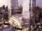 Na stavbě projektu Hudson Yards by se totiž mělo uživit 23 tisíc zaměstnanců.
