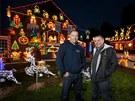 Vánoční výzdobu milují i bratři Lee a Paul Brailsfordovi z Bristolu. Jejich...