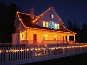 Kýčová vánoční výzdoba (ilustrační snímek)