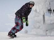 Zahájení ly�a�ské sezony ve skiareálu na �umavském �pi�áku.