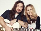 Petr Kol�� a Lucie Vondr��kov�