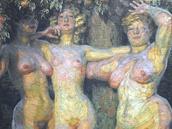 Výstava ukazuje vývoj, kterým Kupka prošel, než se dal na abstraktní malířství.
