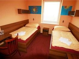 Nově zařízené pokoje v Penzionu Sluníčko