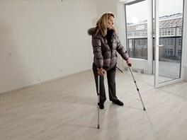 Andrea Brzobohatá z Brna přišla kvůli meningokoku o obě nohy. Po Novém roce se