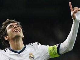 Takhle se z gólu raduje Kaká z Realu Madrid