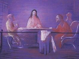 Jan Zrzavý: Motiv Rembrandtův (1932)