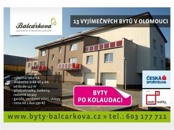 Bytový dům Balcárkova
