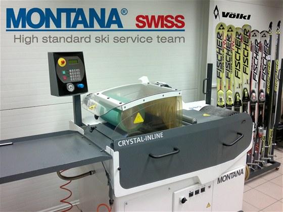 Vybavení stroji Montana