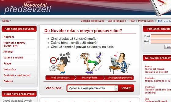 Novoroční-předsevzetí.cz