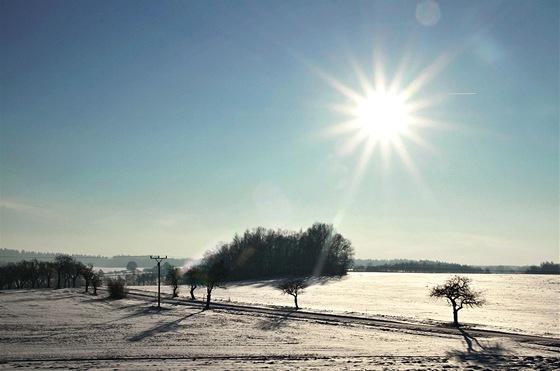 Pohled zrozhledny Boika směrem na Libkov, Bojanov a Seč