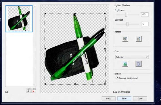 Nastavení skenování na tiskárně CLJ Pro 200