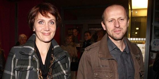 Ester Jane�kov� a jej� man�el Zden�k