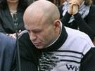 Dmitrij Pavljučenkov (vpravo) dostal jedenáct let za spoluúčast na vražde Anny...