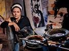 Tady tvořím. Malířka ve svém azylu