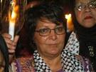 Šestatřicet let poté. Členka Lidové fronty pro osvobození Palestiny Leila