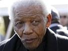 Nelson Mandela na snímku z roku 2010