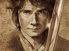 Plakát k filmu Hobit: Neočekávaná cesta - Bilbo