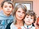 Desetiletý Saša i čtyřletý Oskar se Anastázii a Sašovi Hagenovým narodili ještě...