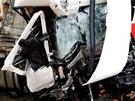 Nehoda dvou kamionů na Novojičínsku na mnoho hodin zastavila dálniční dopravu