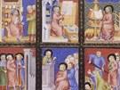 Evangeliář Jana z Opavy, 1368 (z knihy Krása českých iluminovaných rukopisů)